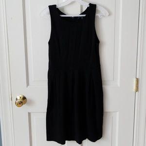Gap black jumper dress